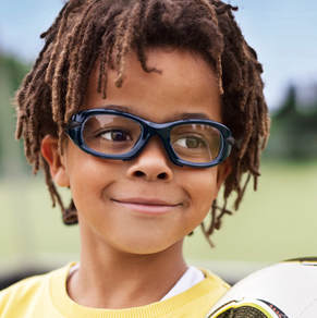 Sports eyewear designed to fit securely and comfortably during physical activities. Type sports eyewear near me to locate us at Port Chester Eye Care